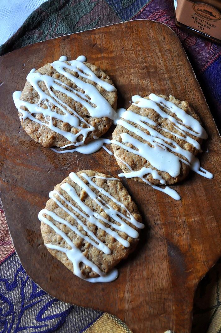 ... butter cinnamon apple spiced oatmeal spiced pumpkin oatmeal cookies