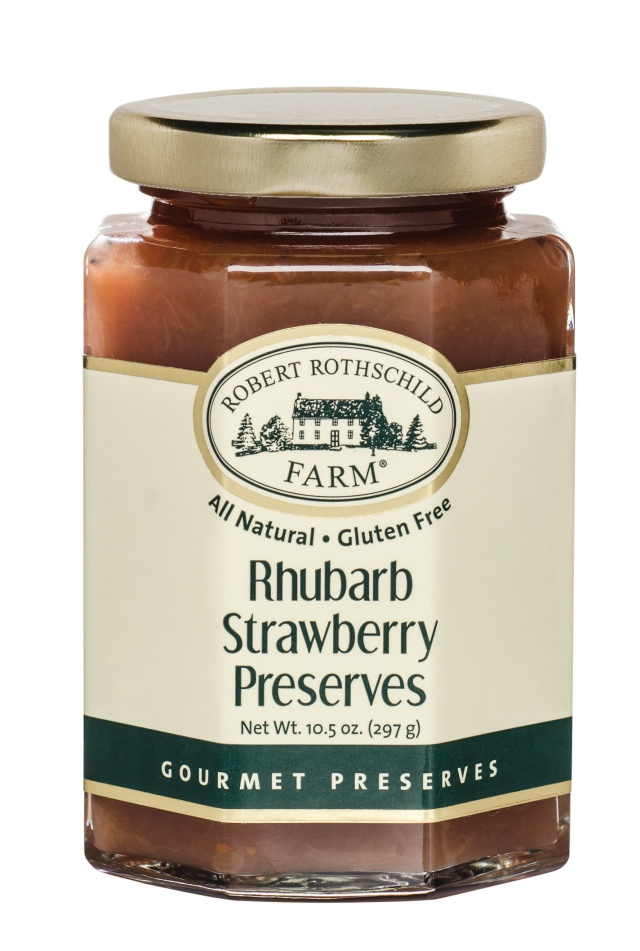 Rhubarb Strawberry Preserves