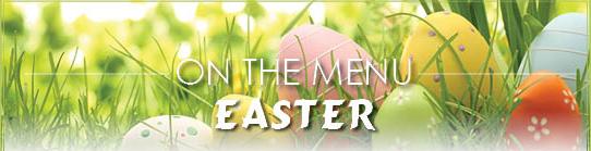 Easter Menu Header
