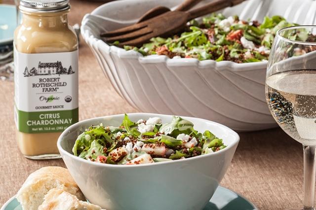 Citrus Chardonnay Quinoa Fuji Apple Salad