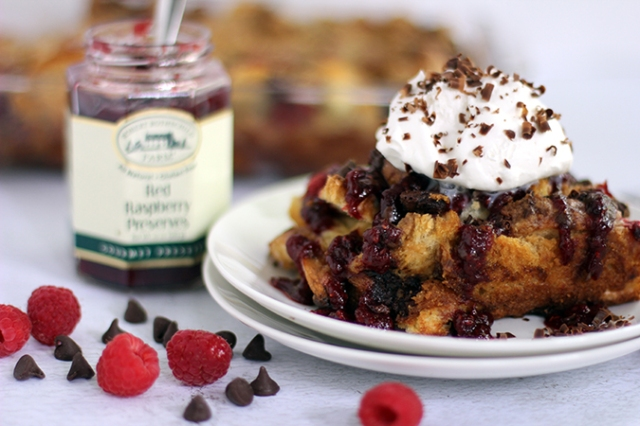 Chocolate Raspberry French Toast Casserole 1_MM