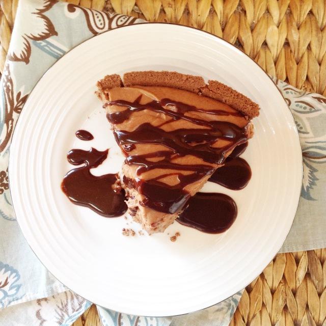 No-Bake-Chocolate-Caramel-Cheesecake 2