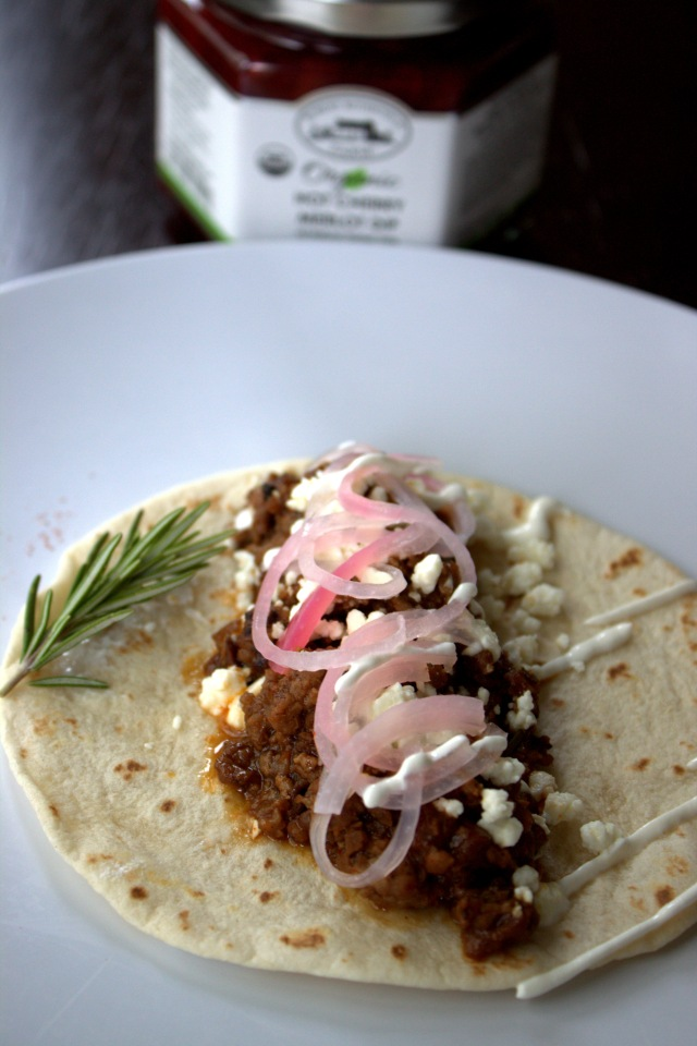 Hot Cherry Merlot Tacos with Feta and Pickled Onions 11_FS