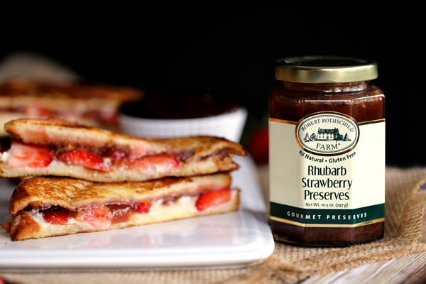 Strawberry Rhubarb Grilled Cheese_MM