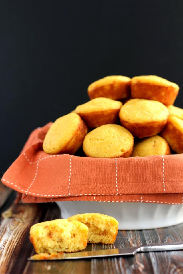 Hot Pepper and Peach Cornbread Muffins 5_MM