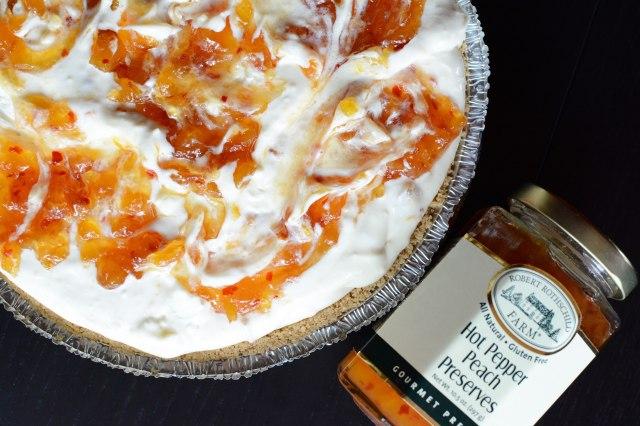 Hot-Pepper-Peach-Cheesecake